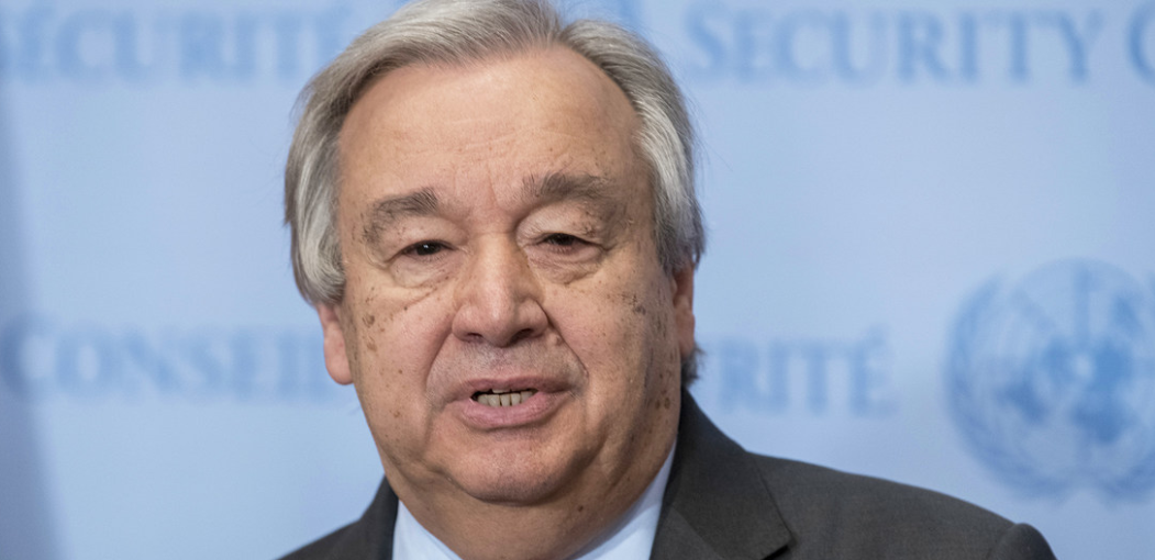 "The UN Secretary-General António Guterres called on world leaders to de-escalate geopolitical tensions on Monday, which he described as being ""at their highest level this century"" as the new decade dawns."